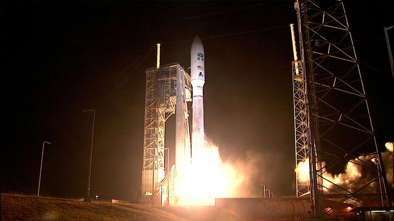 GOES-R Satellite launches 11.19.16