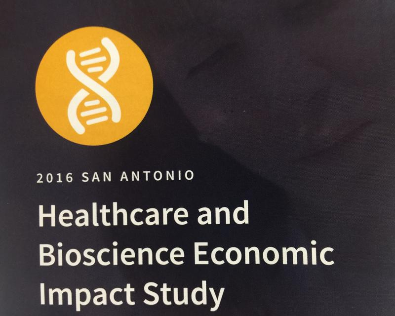 The Healthcare and Bioscience Economic Impact Study for 2015 was released on Nov. 17, 2016.