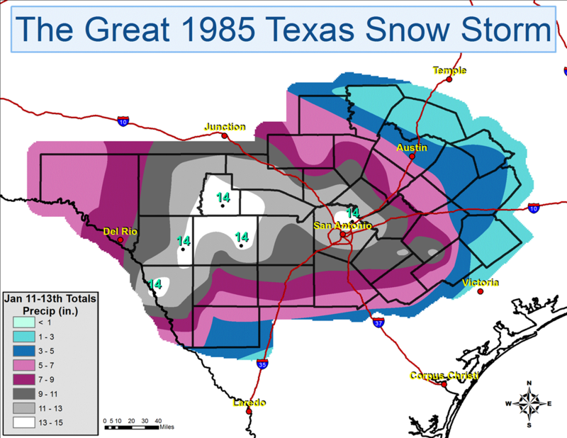 San Antonians Remember The Great '85 Snowstorm | Texas