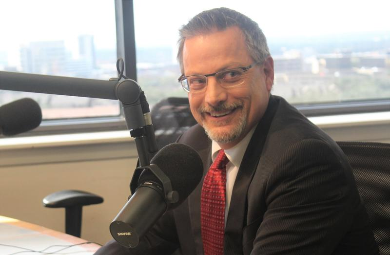 "David Nisivoccia, President/CEO of the San Antonio Housing Authority, in ""The Source"" studio."