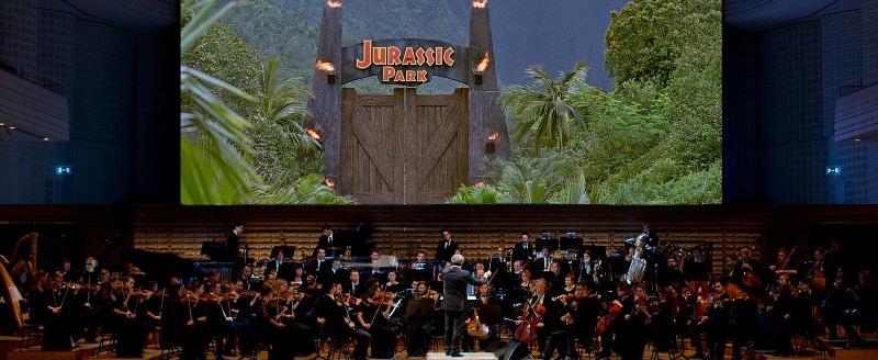 Jurassic Park music done live