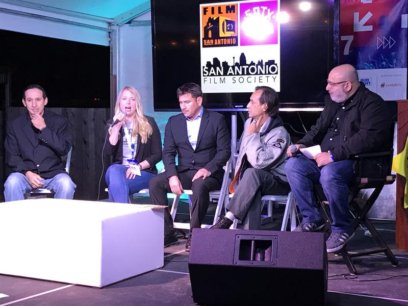 L to R: Fernando Cano, Krystal Jones, Kerry Valderrama, Jesse Borrego, Scott Greenberg.