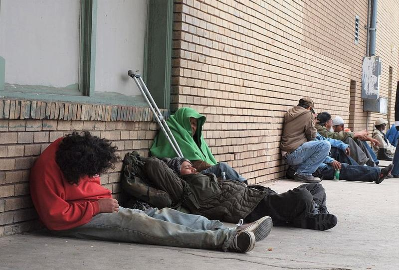 Cities in Texas and across the country have laws in place that penalize sleeping, loitering and begging in public.
