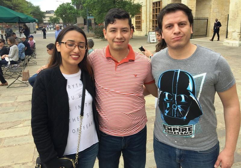 Gaby Cardenas and her Monterrey friends