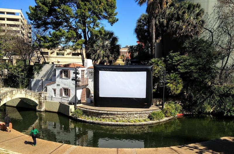 Movie at the Arneson River Theater