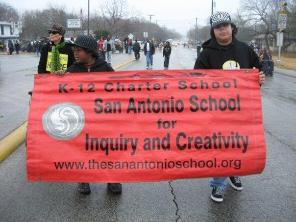 San Antonio School for Inquiry and Creativity students, 2010