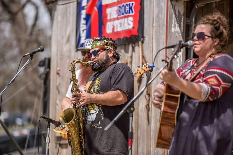 Music at Kerrville's Easterfest