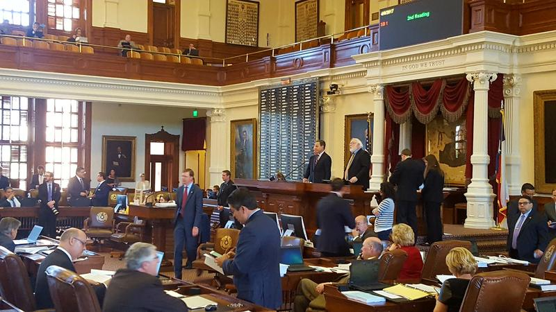 The Texas House is nearing deadlines for passing legislation this session.
