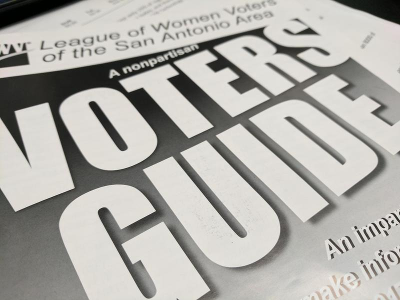San Antonio's League of Women Voters are one of three guides available free from The Voting App