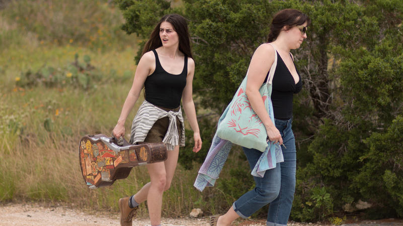 Sophie Reid (left) as Sinaloa, and Allison Tolman as Merle.