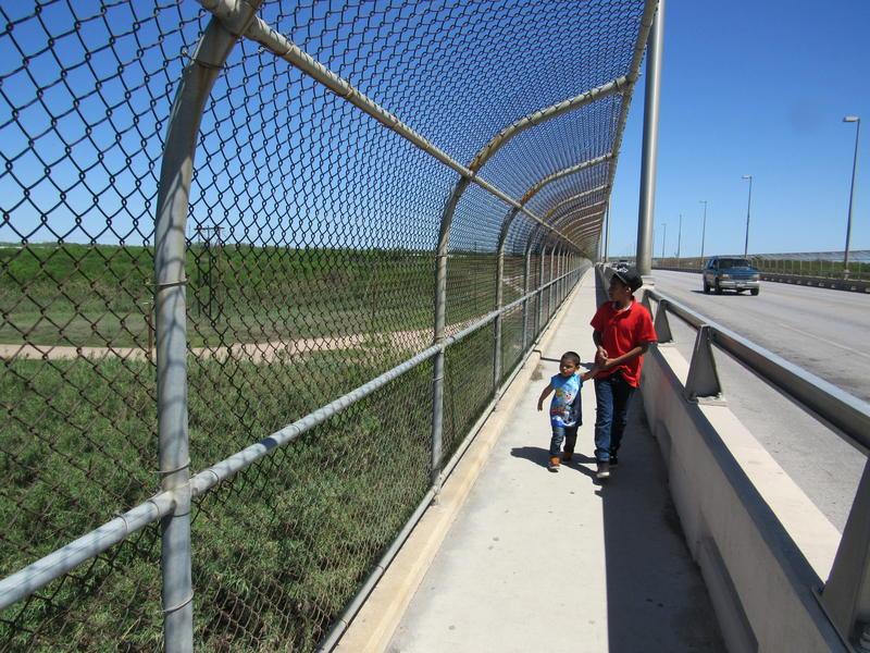 The Del Rio - Ciudad Acuna international bridge