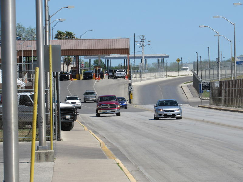 The Del Rio international bridge
