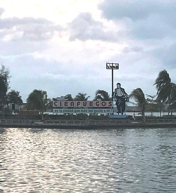 Cienfuegos, one of the 3 places they played