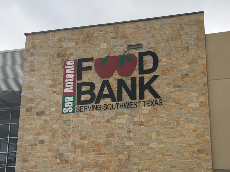 The San Antonio Food Bank is located on the city's West Side.