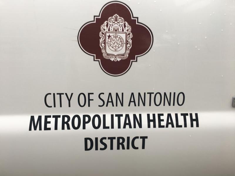 The San Antonio Metropolitan Health District displayed various mosquito abatement techniques at Lady Bird Johnson Park on May 9, 2017.