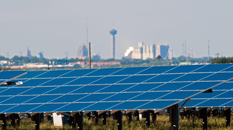 CPS Energy and the Southwest Research Institute have teamed up to build a solar power plant on San Antonio's West Side.