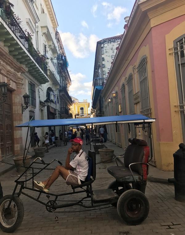 Cuban human taxi