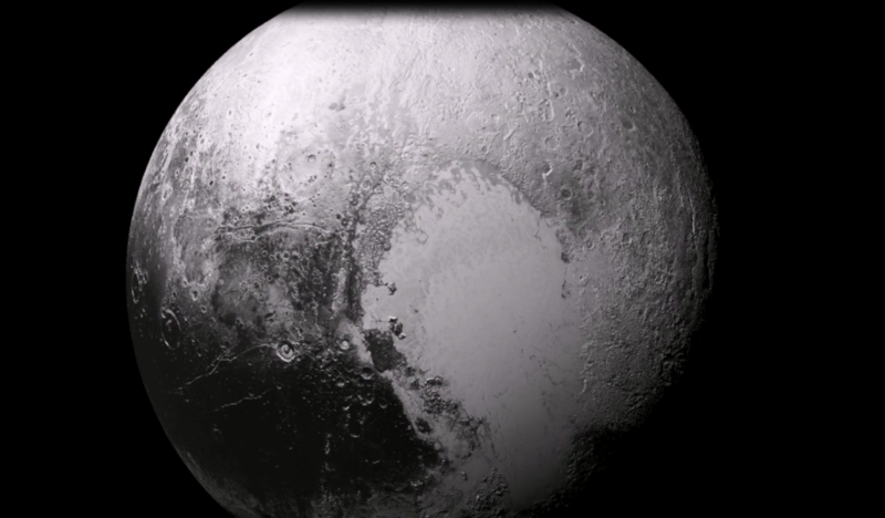 New Horizons Took This Photo Of Pluto In July of 2015