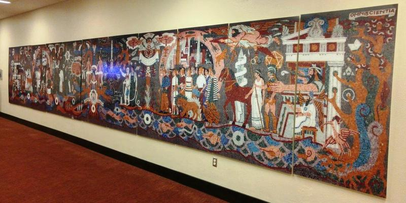 Miniature of Mural inside Lila Cockrell Theatre