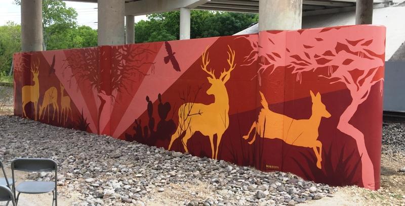 Joe Montoya's mural