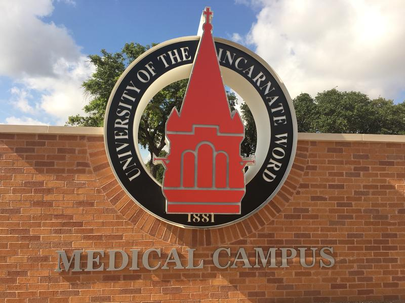 Construction crews are completing the UIW School of Osteopathic Medicine. Classes for the first 162 students begin August 1, 2017.