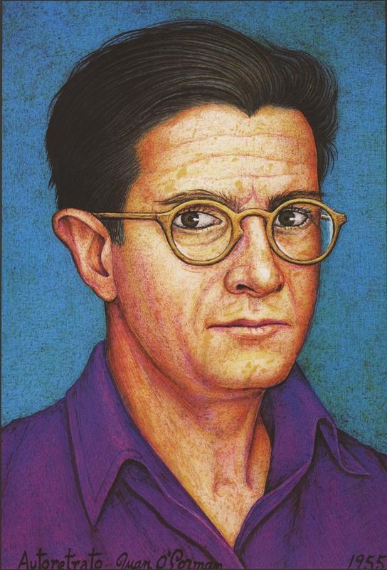 O'Gorman's self portrait