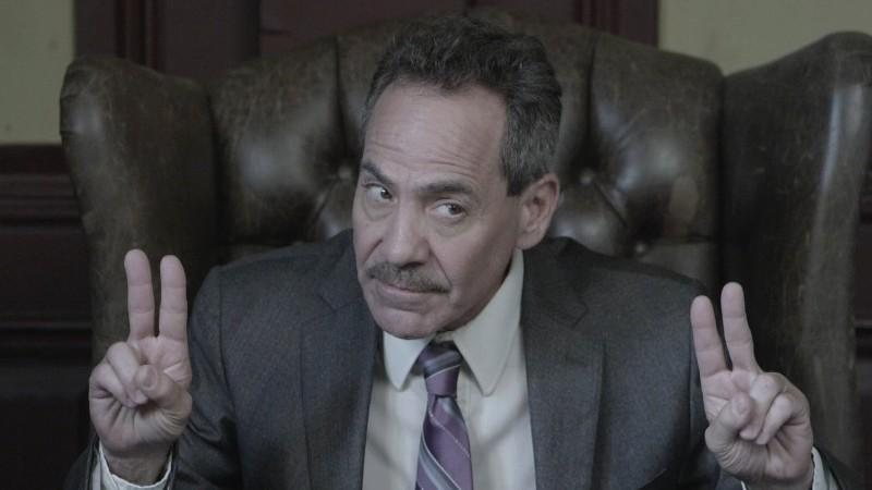 Larry Thomas (the Soup Nazi from Seinfeld)