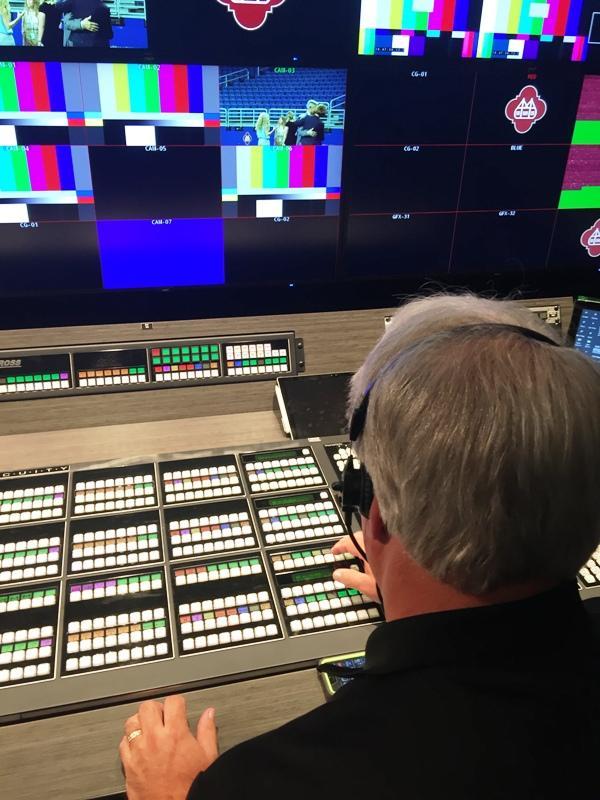 Alamodome Production Facility Control Room