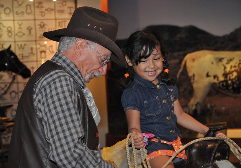 Vaquero at the Institute of Texan Cultures