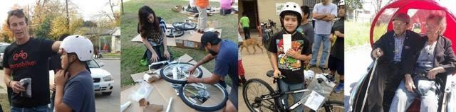 From June 2015 to June 2016, more than 1200 people earned a bike through San Antonio's Earn A BIke.