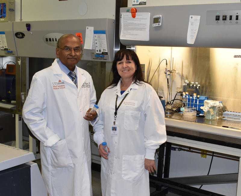 Dr. Chinnaswamy Jagannath of UT Health in Houston and Marie-Claire Gaudiun, Ph.D. of Texas Biomedical Research Institute are working on a more effective and longer lasting TB vaccine.