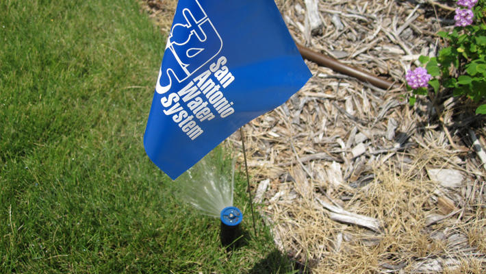 SAWS irrigation flag