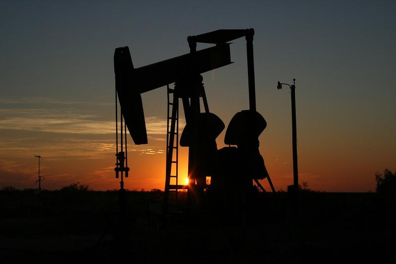 A West Texas pumpjack