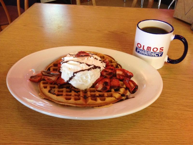 Olmos waffle