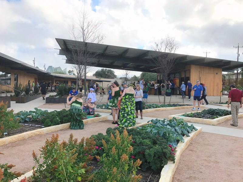 San Antonio Botanical Garden Expands With Culinary Family Adventures Texas Public Radio