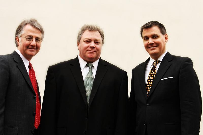 L to R: Darren Kuper, Greg Norris, Barry Brake