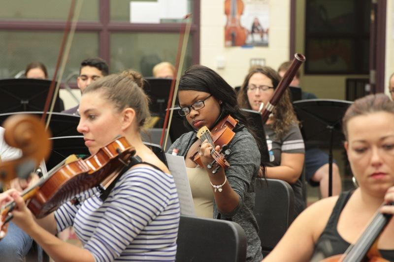 South Texas Symphonic Orchestra rehearsal