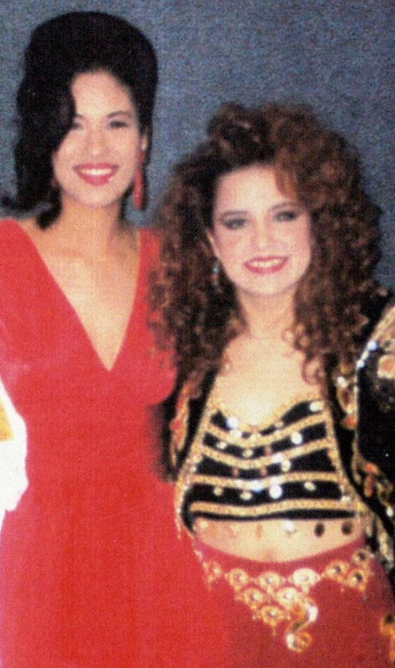 Selena and Shelly Lares