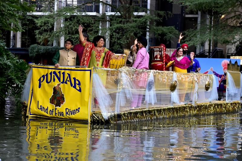 Indian states river parade, Diwali, Festival of Lights
