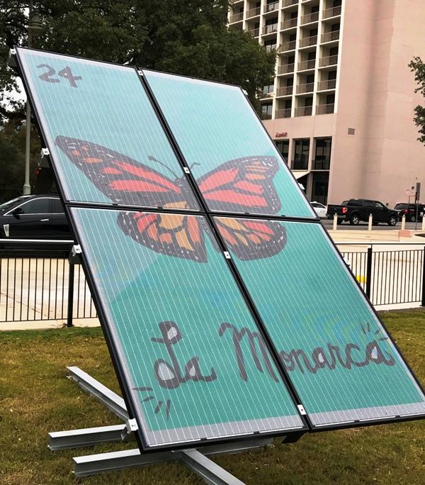 La Monarcha solar panels