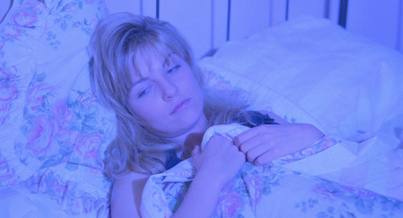 Laura Palmer (Sheryl Lee) in the last week of her life.