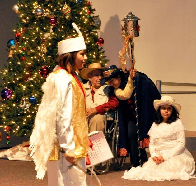 """The troupe from Our Lady of Guadalupe performs """"Los Pastores"""""""