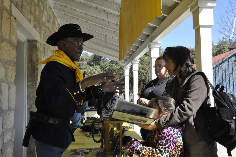 Buffalo Soldiers at the ITC