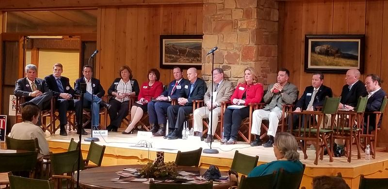16 of the 18 republican candidates running in the open CD 21 Race