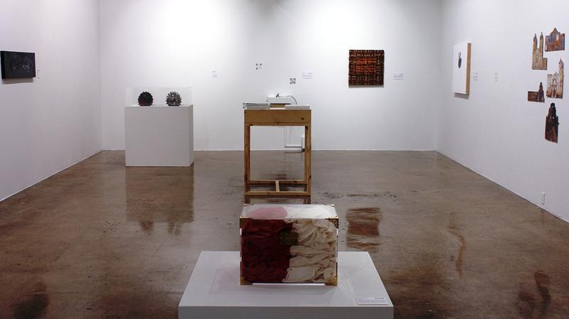 Installation shot Common Currents—1768-1817 at Blue Star Contemporary