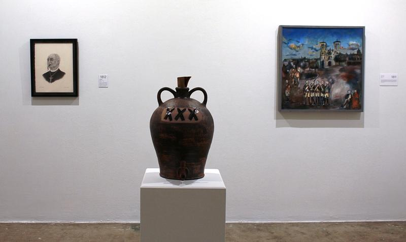 Installation shot Common Currents — 1768-1817 at Blue Star Contemporary