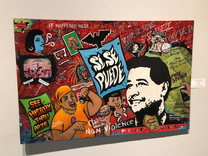 "Mary Agnes Rodriguez's piece ""Si, Se Puede"""