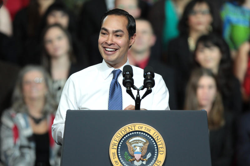 Julian Castro, former secretary for the U.S. Housing and Urban Development for the Obama administration