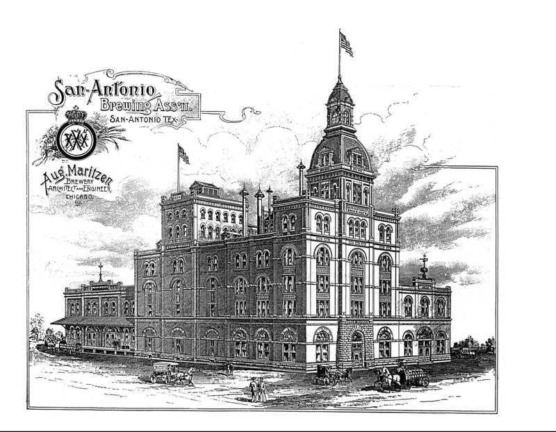 Architect Maritzen Rendering of Pearl Brewery.