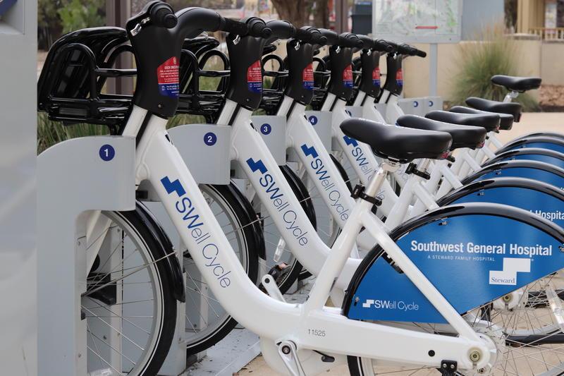 Several newly branded SWell Cycles have already hit San Antonio's streets near Hemisfair.